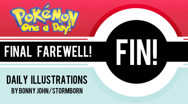 A Farewell to Pokemon One a Day + Thank You Note for TAY