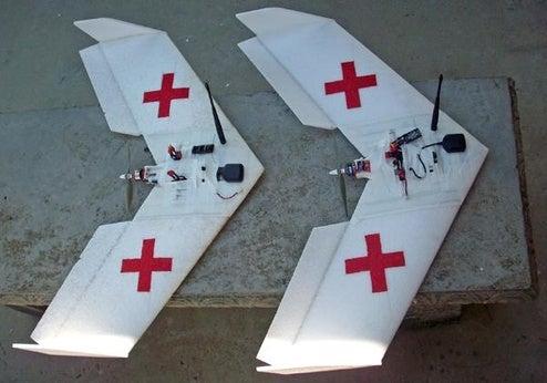 UAV Courier Pigeons Deliver Medical Supplies, Sans Awkward Number Two's