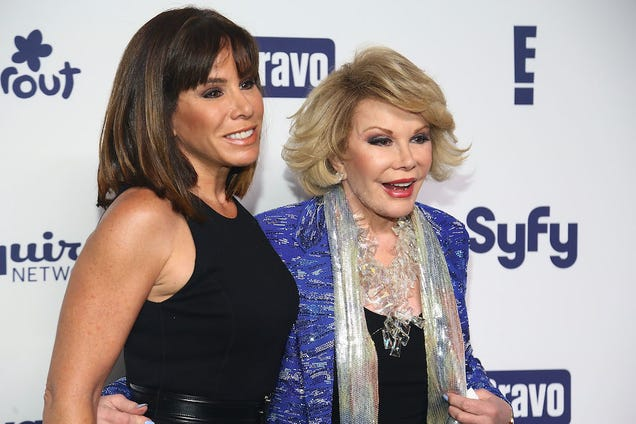 Melissa Rivers Releases Statement, Joan Rivers Out of Intensive Care