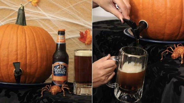 Everybody Needs to Make a Pumpkin Keg to Drink Beer Out of This Month