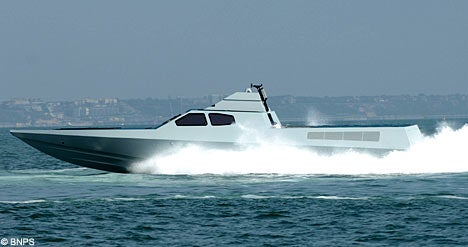 Royal Marines' Latest Boat is Swift, Stealthy, Sexy and Skinny
