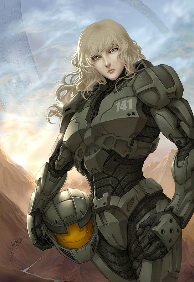 Halo's Blonde Space Marines Have More Fun