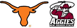 NCAA Pants Party: Texas Vs. New Mexico State