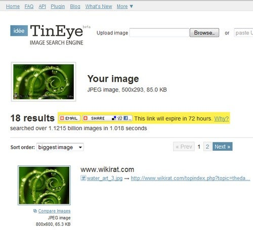 Use TinEye to Find Source Images for Desktop Wallpaper