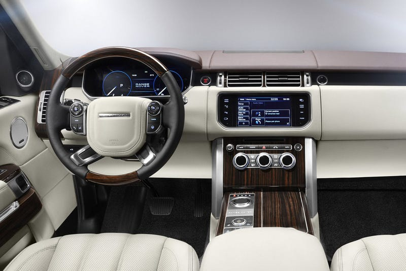 2013 Range Rover: Exclusive Photos