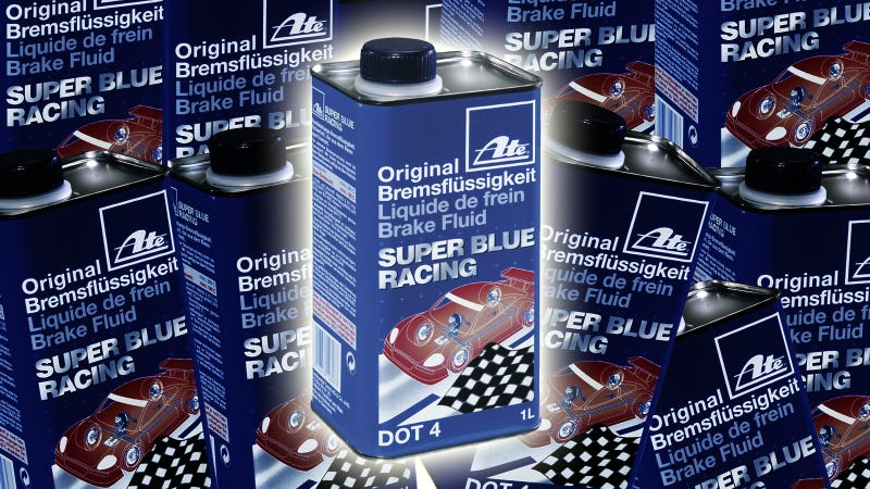 It Took The US Government 15 Years To Realize This Brake Fluid Is Blue