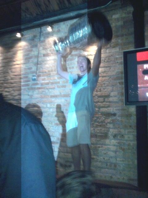 Patrick Kane's Drunken Stanley Cup Road Trip Rolls On
