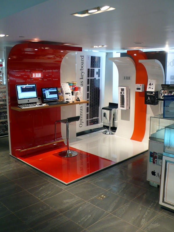 The First US Optimus Store Is a Kiosk in NY
