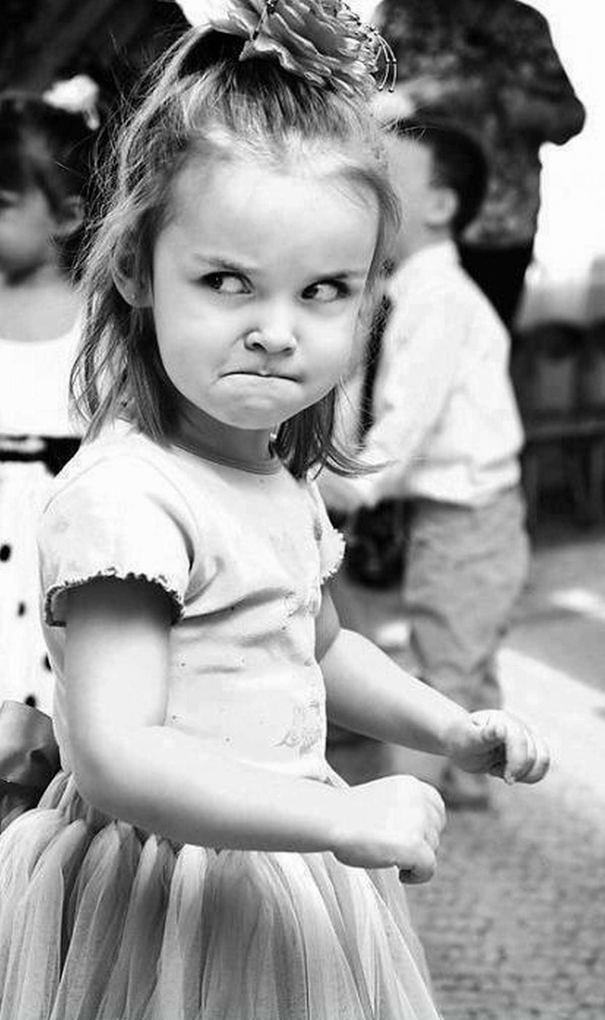 Angry Girl Cute angry bab