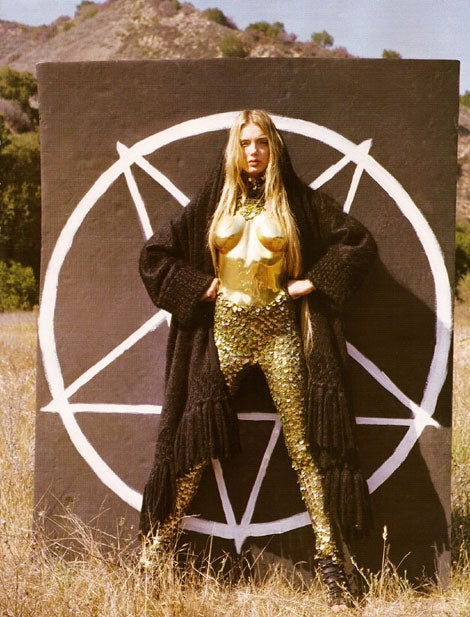 French 'Vogue': Devil Worship Is The New Black!