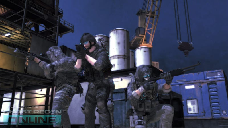 Fresh Screens of the Free-to-Play Ghost Recon Online Deployed to Field