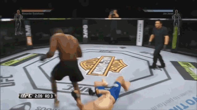 UFC Glitch Breaks Gravity Instead of Bones