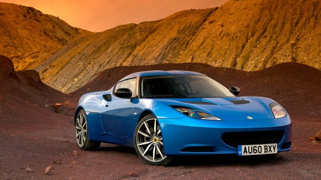 ​Not April Fool's: Lotus Rumored To Be Making An Evora-Based Crossover