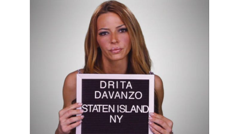 Drita From Mob Wives Shot Scenes for Her Reality Show on Staten Island While Volunteers Cleaned Up