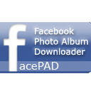 FacePAD Downloads Facebook Albums with a Single Click