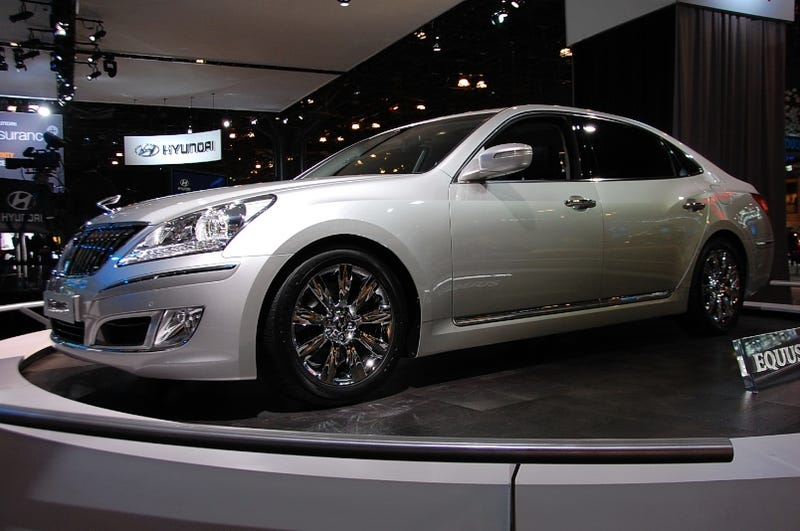Hyundai Equus: A High-Priced Hyundai Not For Us