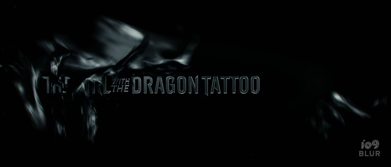 The Girl With the Dragon Tattoo Titles by Blur