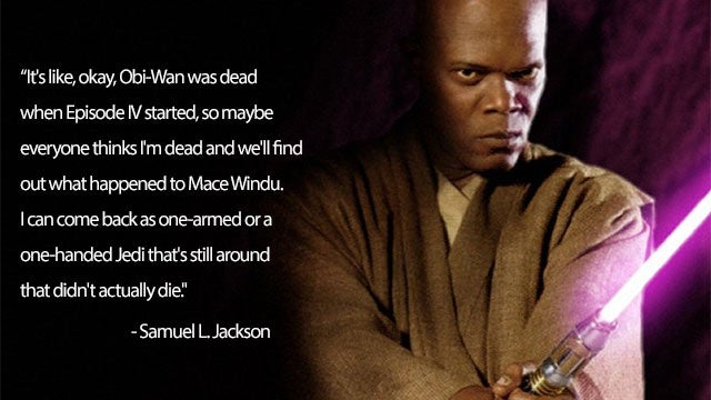 Samuel L. Jackson Wants In On The New Star Wars Movies
