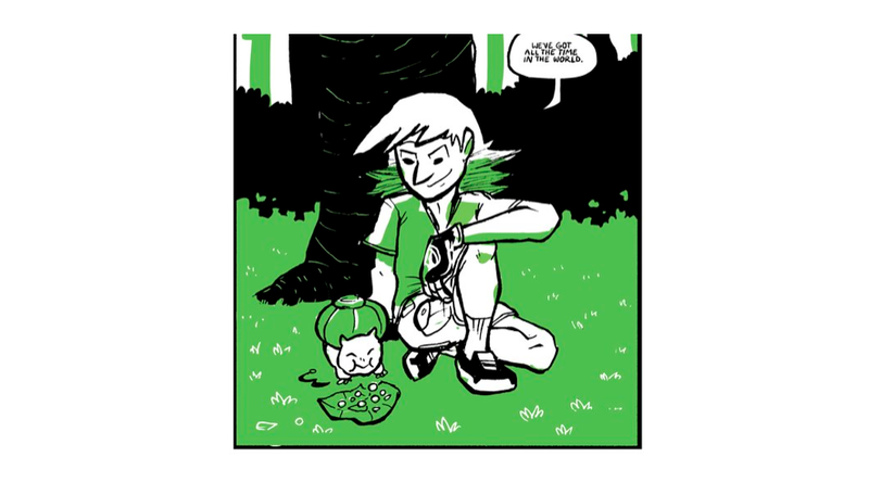 The Everyday Life of a Pokemon Trainer, In Heartwarming Comic Form