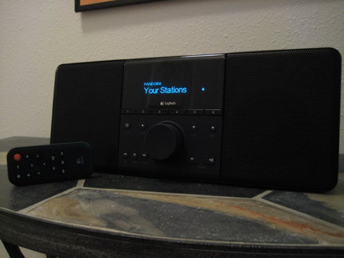 Lightning Review: Logitech's Squeezebox Boom All-in-One Network Audio Player