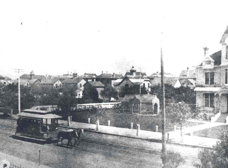 L.A.'s First Public Transit Used Actual Horse Power