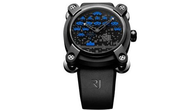 This Space Invaders Watch Is As Expensive As It Is Stylish