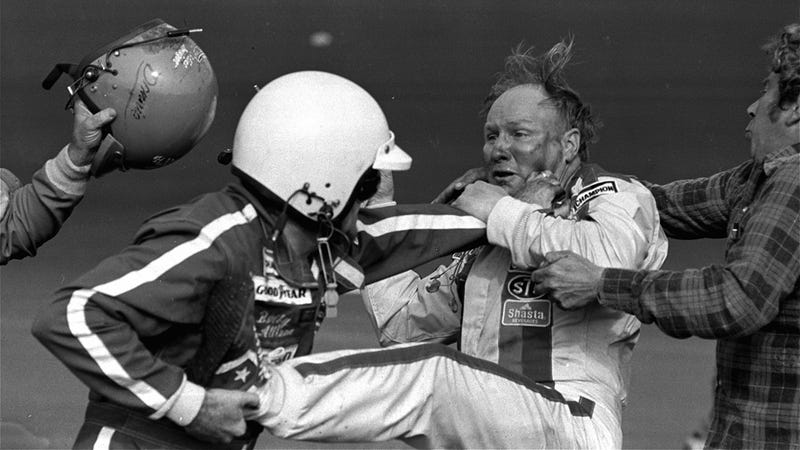 The Ten Most Unsportsmanlike Moments In Auto Racing