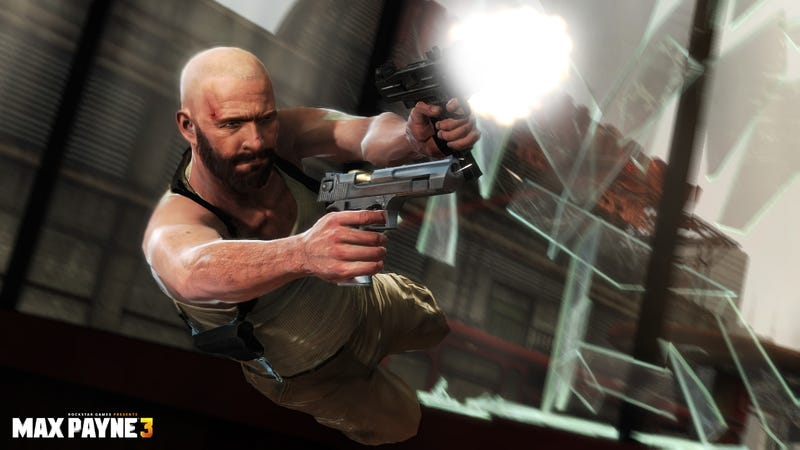 Take A Gander at the Guns of Max Payne 3 in These New Screens