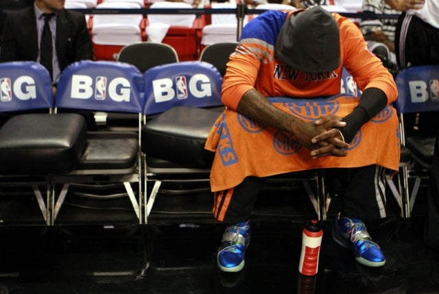 The Knicks' Tip-Off Event Was A Parade Of Sadness