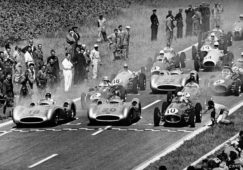 When The Germans Came to Formula One