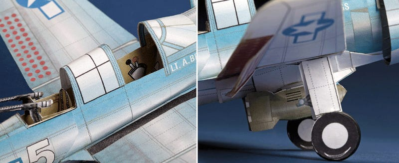 These Remarkably Detailed Paper Airplanes Actually Fly