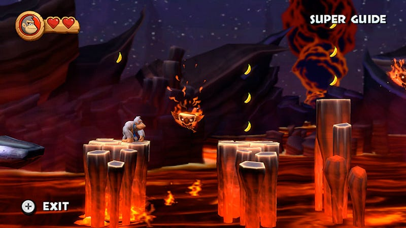 Meet Super Kong, Your Donkey Kong Country Returns 'Super Guide'