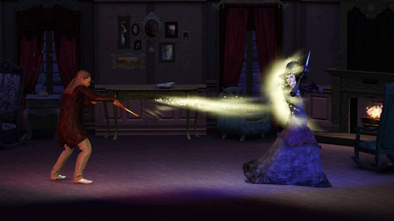 Werewolves, Zombies and Fairies Run Amok in The Sims 3 Supernatural