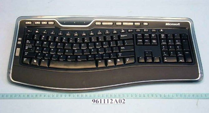 Microsoft's Ergonomic Laser Keyboard 7000 Leaked Via FCC