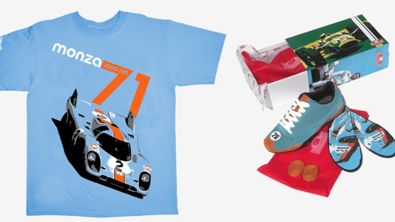 Now You Can Finally Wear Great Moments In Racing History