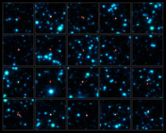 El telescopio ALMA envía las fotos más precisas de antiguas galaxias