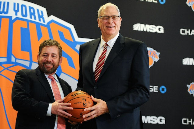 The Knicks' Manly Seduction Of Phil Jackson
