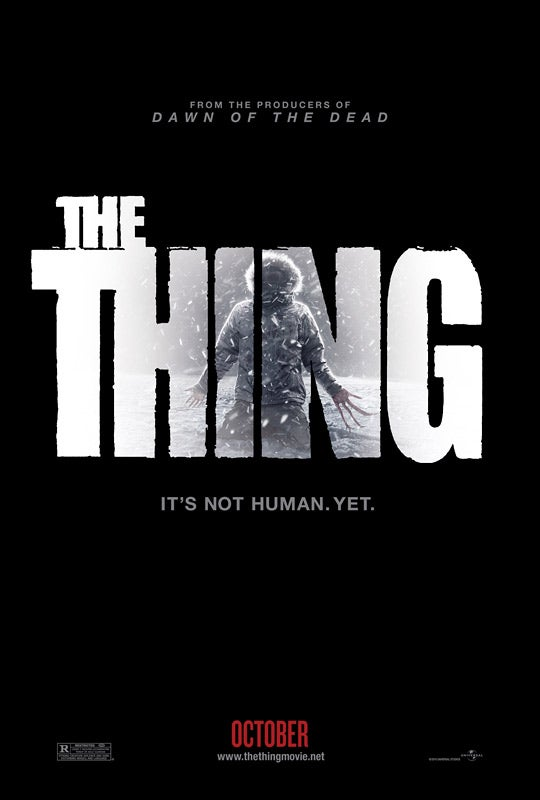 The Thing teaser poster