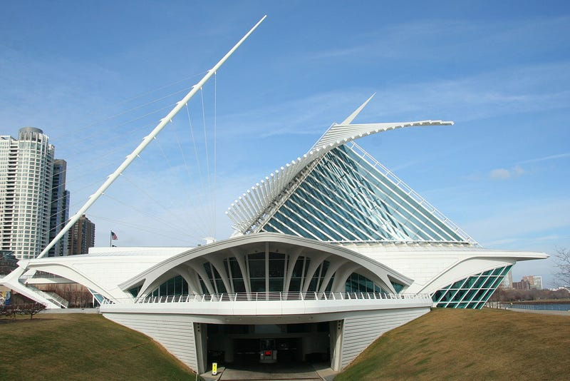 Buildings that look like UFO crash landings