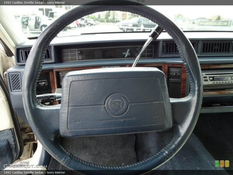 One of many Fugly GM steering wheels