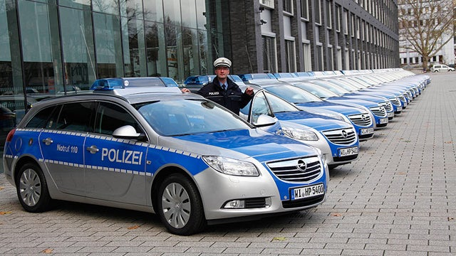 German Cops Can't Fit Into Their New Squad Cars