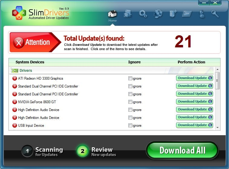 SlimDrivers Offers Easy Windows Driver Updating, Scheduling, and Restoration