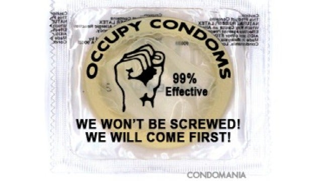 Condom Store's Latest Product Is 'Occupy Wall Street'-Themed