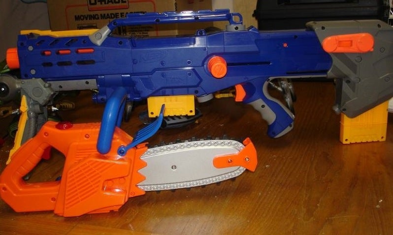 Destroy All Aliens With Nerf
