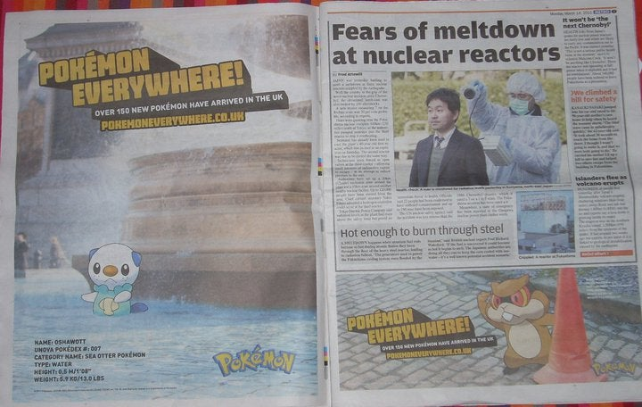 Japan Disaster Coverage Invaded By Rampaging Pokémon