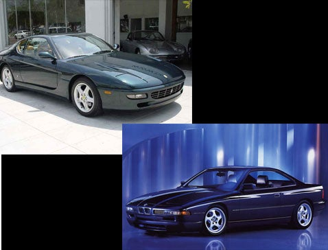 BMW 850CSi Vs Ferrari 456 GT