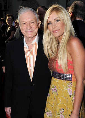 Hugh Hefner's Fiancée Cheating With Dr. Phil's Son