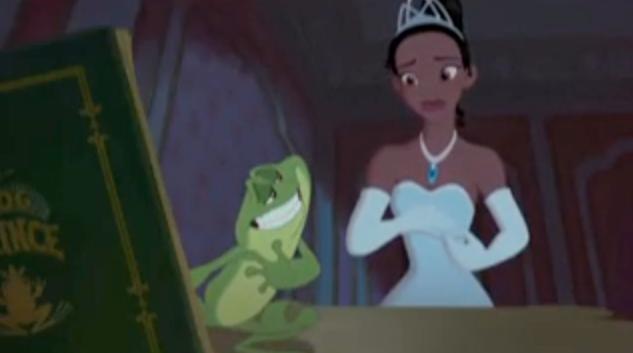 Disney's First Black Princess Is A Little Green