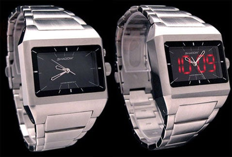 Shadow SS Watch Has Two Faces, Frightens Us