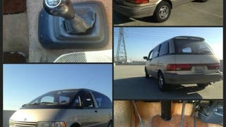 1991 Toyota Previa 5spd for sale